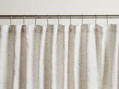 Speckled Shower Curtain – Parachute Home Striped Shower Curtains, Bathroom Shower Curtains, Rental Bathroom, Minimalist Showers, Parachute Home, Tub Mat, Liquid Laundry Detergent, Old Mattress, Shower Curtain Rings