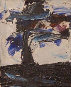 Marcelle FERRON - Sans titre (c.1962). Follow the biggest painting board on Pinterest: www.pinterest.com/atelierbeauvoir