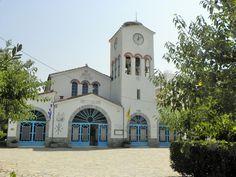 """The church """" Koimisis tis Theotokou"""" in Kanalia Volou."""