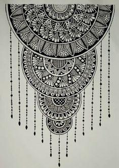 Easy Mandala Drawing, Mandala Doodle, Doodle Art Drawing, Mandala Sketch, Doodling Art, Zen Doodle, Mandala Art Therapy, Mandala Art Lesson, Mandala Artwork