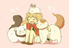 Image result for hetalia fanfiction fox france and rabbit england