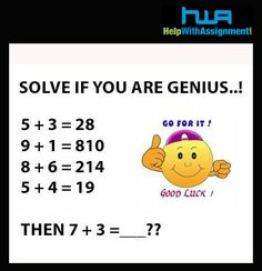get math help Find out the answer- Get help with Math homework, Math assignment . Math Homework Help, Math Help, Homework Online, Brain Teasers Riddles, Brain Teasers With Answers, Math Questions, Trick Questions, Math Challenge, Jokes And Riddles