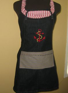 Sailor apron by byemilyrose on Etsy, $45.00