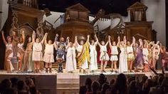 """The cast of """"A Funny Thing Happened on the Way to the Forum"""" at the ..."""