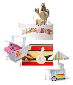 Paper Printable toys