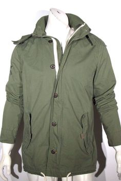 7d50c9a44a Superdry wilderness Parker light olive green jacket coat removable hoodie  NEW #superdry #Military Landa