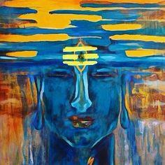 Lord Shiva Pics, Lord Shiva Hd Images, Rudra Shiva, Shiva Shakti, Painting Inspiration, Art Inspo, Shiva Tattoo Design, Meditation France, Shiva Photos