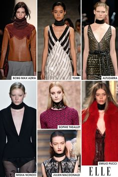 ELLE.com fashion editor Danielle Prescod breaks down the 20 trends from fall 2015 you need to know, including the turtleneck dickie.