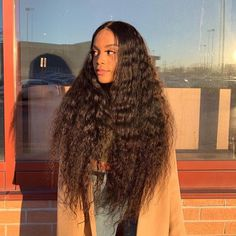 Oh so pretty! Can't wait to wear this on? to check our bio link to order! Weave Hairstyles, Straight Hairstyles, Jerry Curl Hair, Curly Girl, Brazilian Hair, Human Hair Extensions, Virgin Hair, Wavy Hair, Lace Wigs