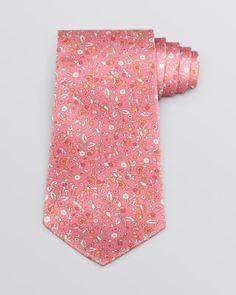 SALVATORE FERRAGAMO Torr Flower and Horse Classic Tie. #salvatoreferragamo #tie