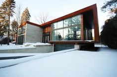 Casa Birchview - Prototype Design Lab (Canadá) #architecture
