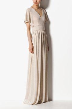 Massimo Dutti Long Linen Dress
