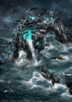 Sea Golem by johnsonting.deviantart.com on @deviantART