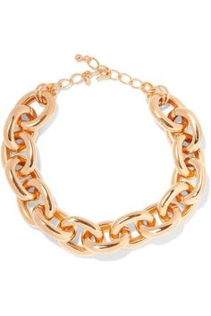 Kenneth Jay Lane - Gold-plated Necklace - One size