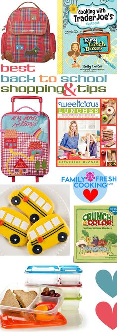 BEST Back to School Shopping and Tips | FamilyFreshCooking.com