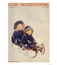 Good Housekeeping magazine cover, March 1919 Jessie Willcox Smith