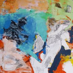"Saatchi Art Artist Mimi van Bindsbergen; Painting, ""Intertwined I"" #art"