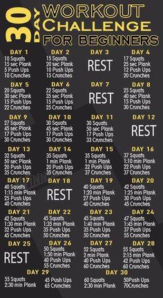 Fitness Del Yoga, Fitness Herausforderungen, Fitness Workout For Women, Fitness Workouts, Gym Workout Plan For Women, Fitness Plan For Women, Extreme Fitness, Health Fitness, Video Fitness