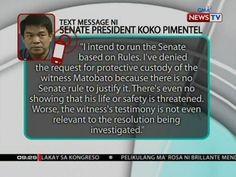 SONA: Pahayag ni Senate President Koko Pimentel