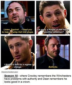that would be AWESOME lol #Supernatural Season 10 - could be
