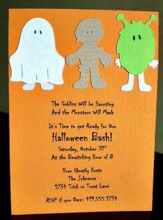 Monster Mash invites