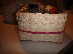 square basket with braided top tutorial