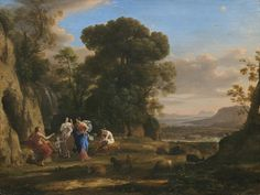 The Judgment of Paris Claude Lorrain (French; 1604–1682) 1645–6 Oil on canvas National Gallery of Art, Washington, D.C.