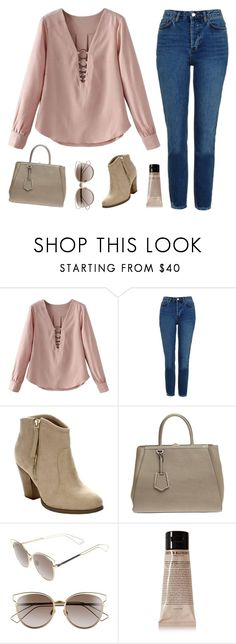 """Untitled #15"" by emma-l12 on Polyvore featuring Topshop, Liliana, Fendi, Christian Dior and Grown Alchemist"