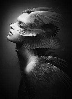 WINGED ANGEL by Soufiane Idrassi