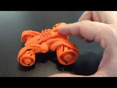 Double Shock  3D printed car - YouTube