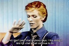 Teach them how he was never anything less than his authentic self. | 16 Ways To Teach Your Kids About David Bowie (And The World)