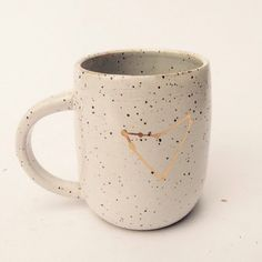 Capricorn Constellation Mug by KilnWitch on Etsy