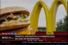 """Murió El Creador Del """"Bic Mac"""" De MacDonald's"""