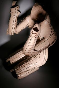 Conceptual collection of wearable art pieces from Una Burke
