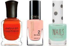 Charting: At-Home Gel Manicure Polishes