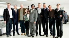 The cast of Inception. Ellen Page is a freaking hobbit!
