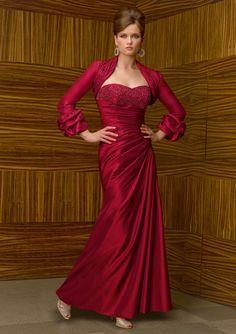 e1d67c4ed18 Mori Lee VM 70323 Dress and Jacket. Fabric  Iridescent Taffeta.  wedding