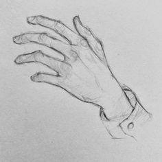 Anatomy Sketches, Art Drawings Sketches Simple, Pencil Art Drawings, Cool Drawings, Drawing Ideas, Art Reference Poses, Hand Drawing Reference, Drawing Hands, Cartoon Art Styles