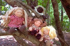 Etsy - About AppleTreeHouse Dolls.  BEAUTIFUL!