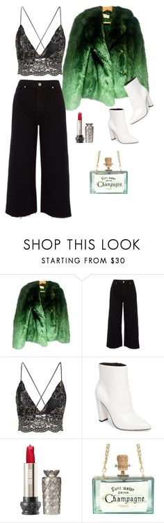 """""""Green Goblin"""" by cerisejasmine ❤ liked on Polyvore featuring River Island and Jessica Simpson"""