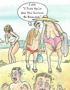 You have Nude comic humor beach opinion you