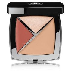 All over 3-in-1 face palette: conceal, highlight, color for a fresh and glowy complexion