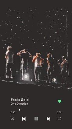One Direction Albums, One Direction Lyrics, One Direction Wallpaper, One Direction Videos, One Direction Pictures, Song Lyrics Wallpaper, Music Wallpaper, Fools Gold Song, Canciones One Direction