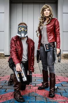 double trouble |  Star-Lord | fem!Star-Lord | pic by [x] | +