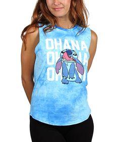 Disney Stitch Ohana Tank - Juniors | zulily