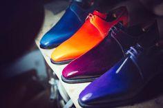 Electrochoc ... Des souliers qui se dégustent autant qu'ils se portent.