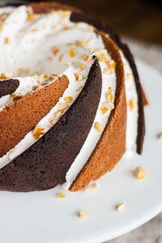 Rocky Road Bundt Cake #BundtBakers