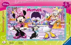 Ravensburger Puzzle Frame - Disney Minnie & Daisy (15Pcs) (06049)  Manufacturer: Ravensburger Enarxis Code: 015934 #toys #puzzle #Ravensburger #Disney #Minnie #Daisy