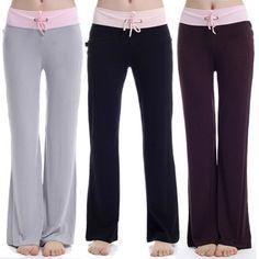 DIY YOGA PANTS FREE PATTERN: these are soooooo comfortable!!!!!! Free Women's…