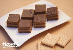 Bajadéra szelet   Nosalty Minion, Tapas, Sweets, Candy, Cookies, Chocolate, Recipes, Food, Hungarian Recipes